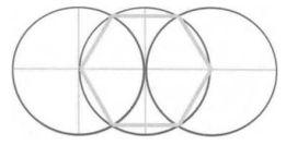Рисование шестиугольникa